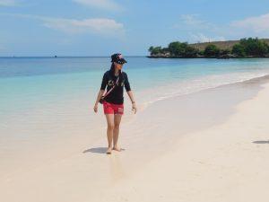 pantai pink segui lombok