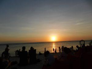 sunset di Gili Trawangan bagian barat