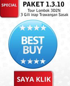 Klik Best Buy Paket 1.3.10 3 Gili inap Trawangan