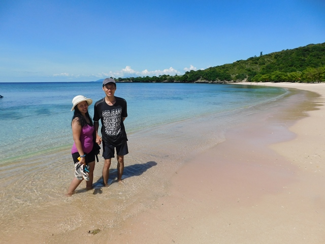 honeymoon pantai pink