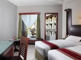 salah satu bentuk kamar Hotel Lombok Garden
