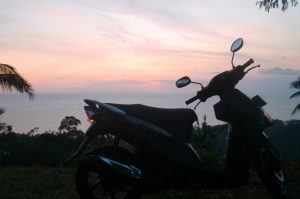 unit sepeda motor untuk Solo Traveling ke Lombok