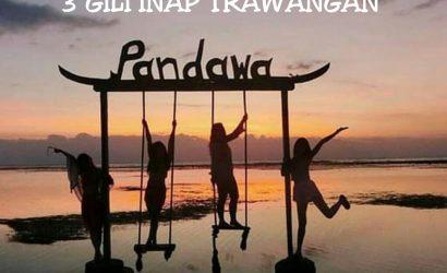 Open Trip Lombok 3D2N 3 GILI Inap Trawangan
