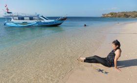 pantai pink tangsi lombok timur ntb