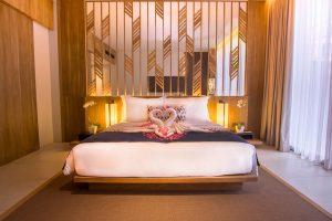 kamar tidur di Premier Suite