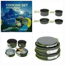 cooking set untuk mendaki